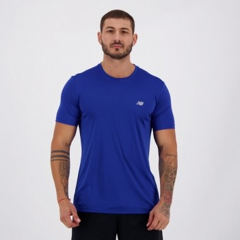 Camiseta New Balance Authentic Azul