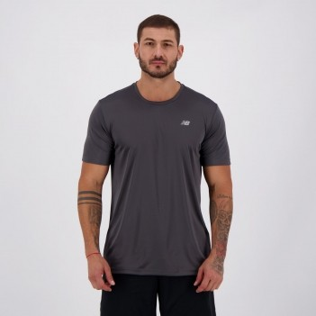 Camiseta New Balance Authentic Chumbo
