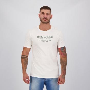 Camiseta New Era Addres Off White