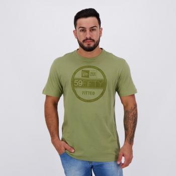 Camiseta New Era Corporate Fitted Verde