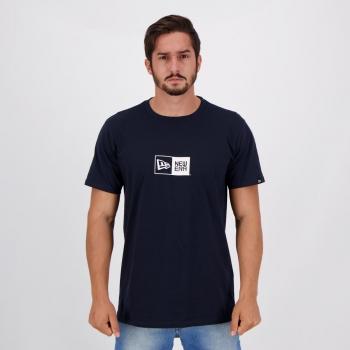 Camiseta New Era Essentials Box Marinho