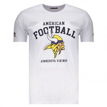 Camiseta New Era Minnesota Vikings Branca