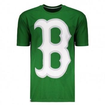 Camiseta New Era MLB Boston Red Sox 10 Verde
