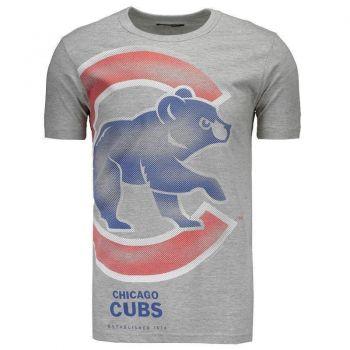 Camiseta New Era MLB Chicago Cubs Cinza