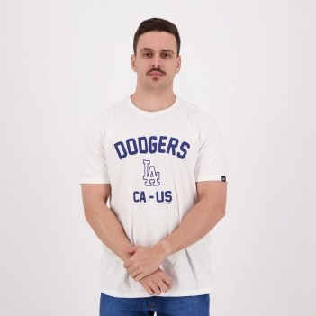 Camiseta New Era MLB Dodgers Branca