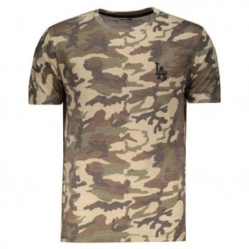 Camiseta New Era MLB Los Angeles Dodgers Camuflada