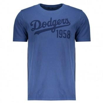 Camiseta New Era MLB Los Angeles Dodgers Logo Azul