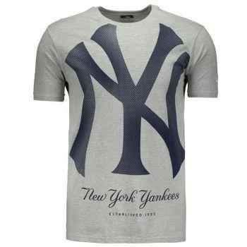 Camiseta New Era MLB New York Yankees Logo Mescla