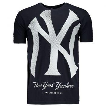 Camiseta New Era MLB New York Yankees Marinho