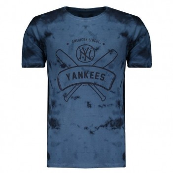Camiseta New Era MLB New York Yankees Azul Marinho