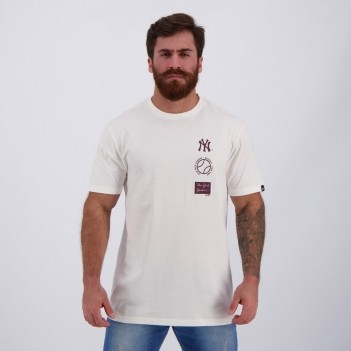 Camiseta New Era MLB New York Yankees Brand Branca