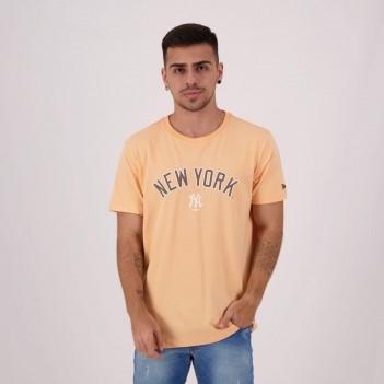 Camiseta New Era MLB New York Yankees Essentials Laranja