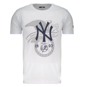 Camiseta New Era MLB New York Yankees League Branca