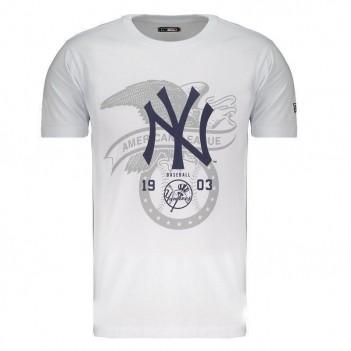 Camiseta New Era MLB New York Yankees League Branca