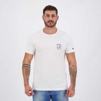 Camiseta New Era MLB New York Yankees Raglan Branca