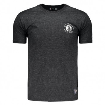 Camiseta New Era NBA Brooklyn Nets Preta