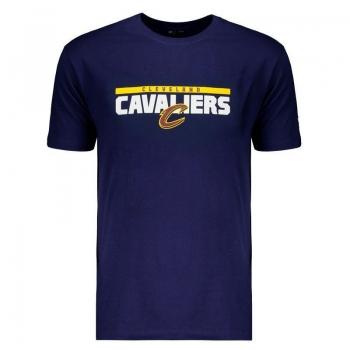 Camiseta New Era NBA Cleveland Cavaliers Marinho