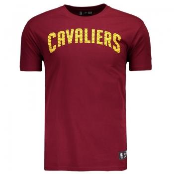 Camiseta New Era NBA Cleveland Cavaliers Vinho