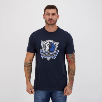 Camiseta New Era NBA Dallas Mavericks Marinho