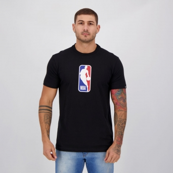 Camiseta New Era NBA I Preta