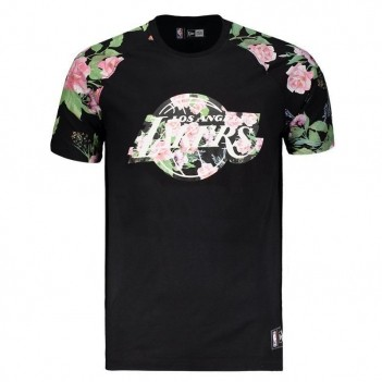 Camiseta New Era NBA Los Angeles Lakers Floral