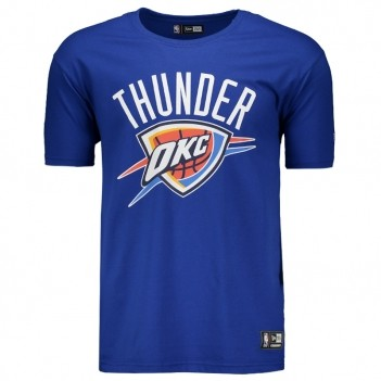 Camiseta New Era NBA Oklahoma City Thunder Logo
