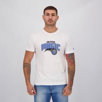 Camiseta New Era NBA Orlando Magic I Branca