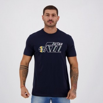 Camiseta New Era NBA Utah Jazz Marinho