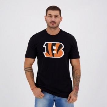 Camiseta New Era NFL Cincinnati Bengals Preta