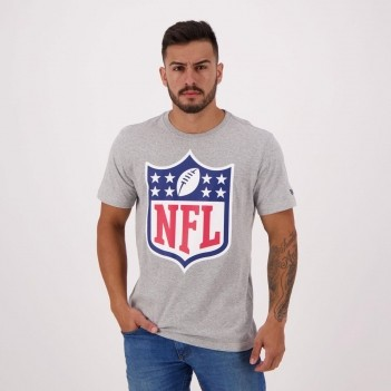 Camiseta New Era NFL Cinza