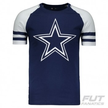Camiseta New Era NFL Dallas Cowboys Marinho