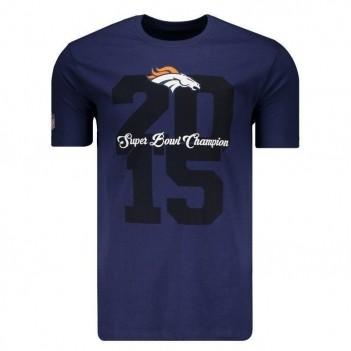Camiseta New Era NFL Denver Broncos Azul Marinho