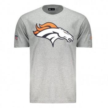 Camiseta New Era NFL Denver Broncos Cinza