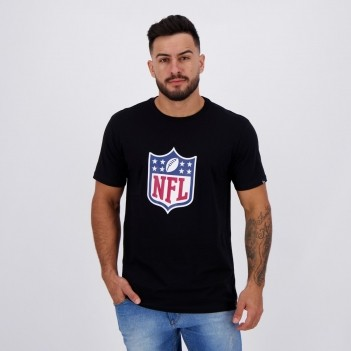 Camiseta New Era NFL Essentials Preta