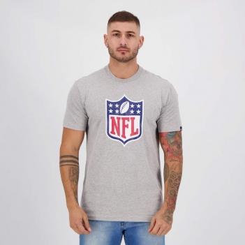 Camiseta New Era NFL I Cinza Mescla
