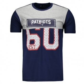 Camiseta New Era NFL New England Patriots 60 Marinho