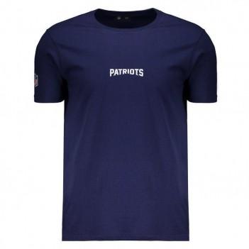 Camiseta New Era NFL New England Patriots Marinho