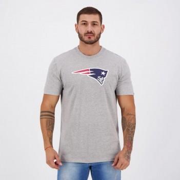 Camiseta New Era NFL New England Patriots Cinza Mescla