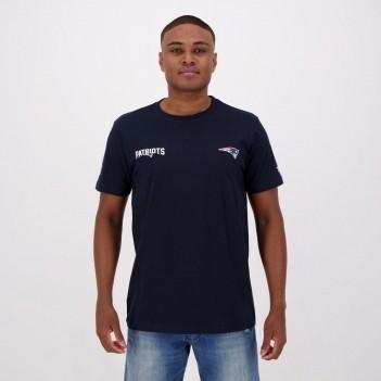 Camiseta New Era NFL New England Patriots Escudo Marinho
