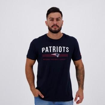 Camiseta New Era NFL New England Patriots Estampada Marinho
