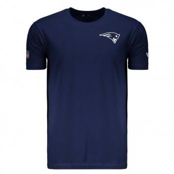 Camiseta New Era NFL New England Patriots Azul Marinho