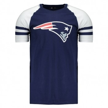 Camiseta New Era NFL New England Patriots Raglan