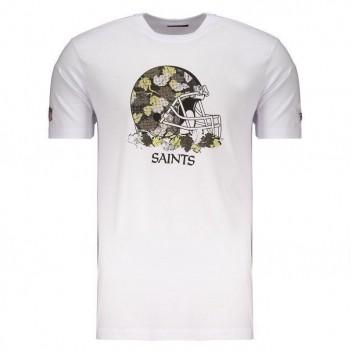 Camiseta New Era NFL New Orleans Saints Branca