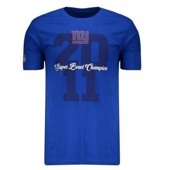 Camiseta New Era NFL New York Giants Azul Royal