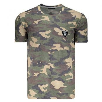 Camiseta New Era NFL Oakland Raiders Camuflada