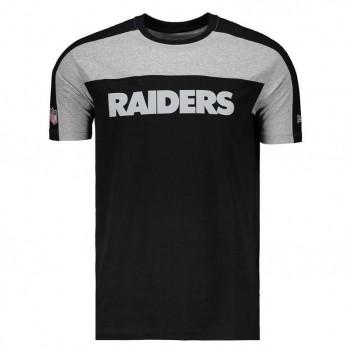 Camiseta New Era NFL Oakland Raiders Escudo Preta