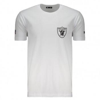 Camiseta New Era NFL Oakland Raiders Escudo Branca