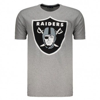 Camiseta New Era NFL Oakland Raiders Cinza
