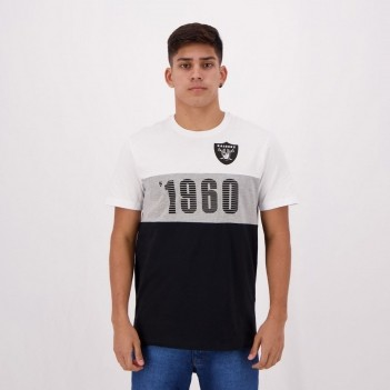 Camiseta New Era NFL Oakland Raiders Fresh Branca