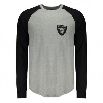 Camiseta New Era NFL Oakland Raiders Manga Longa